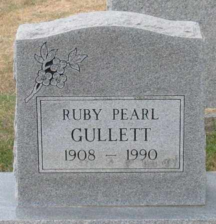 GULLETT, RUBY PEARL - Garland County, Arkansas | RUBY PEARL GULLETT - Arkansas Gravestone Photos