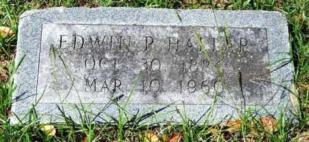 HALLAR, EDWIN P. - Garland County, Arkansas | EDWIN P. HALLAR - Arkansas Gravestone Photos