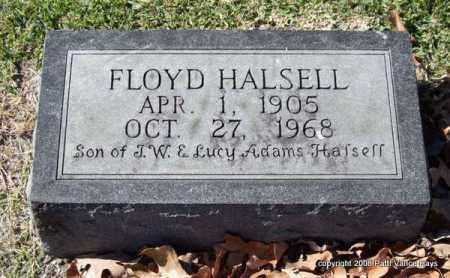 HALSELL, FLOYD - Garland County, Arkansas | FLOYD HALSELL - Arkansas Gravestone Photos