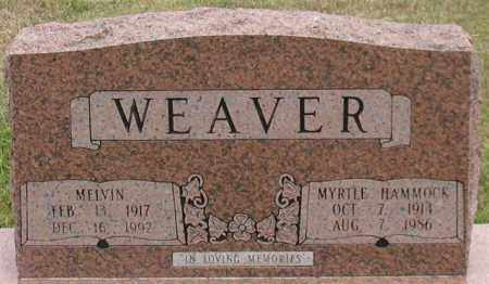WEAVER, MELVIN - Garland County, Arkansas | MELVIN WEAVER - Arkansas Gravestone Photos