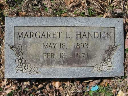 JOHNSON HANDLIN, MARGARET L. - Garland County, Arkansas | MARGARET L. JOHNSON HANDLIN - Arkansas Gravestone Photos