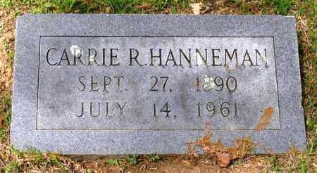 HANNEMAN, CARRIE R. - Garland County, Arkansas | CARRIE R. HANNEMAN - Arkansas Gravestone Photos