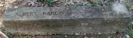 HARDIN, ALBERT - Garland County, Arkansas | ALBERT HARDIN - Arkansas Gravestone Photos