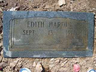 HARDIN, EDITH - Garland County, Arkansas | EDITH HARDIN - Arkansas Gravestone Photos