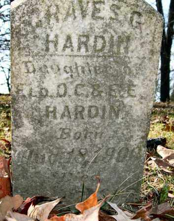HARDIN, GRAVES G. - Garland County, Arkansas | GRAVES G. HARDIN - Arkansas Gravestone Photos