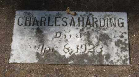 HARDING, CHARLES A. - Garland County, Arkansas | CHARLES A. HARDING - Arkansas Gravestone Photos