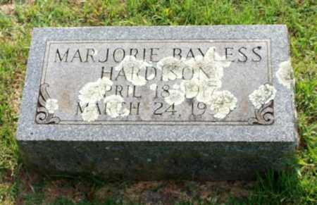 BAYLESS HARDISON, MARJORIE - Garland County, Arkansas | MARJORIE BAYLESS HARDISON - Arkansas Gravestone Photos