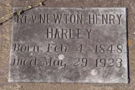 HARLEY, REV., NEWTON HENRY - Garland County, Arkansas | NEWTON HENRY HARLEY, REV. - Arkansas Gravestone Photos