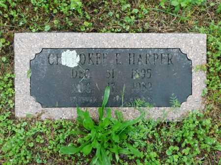 HARPER, CHEROKEE E. - Garland County, Arkansas | CHEROKEE E. HARPER - Arkansas Gravestone Photos
