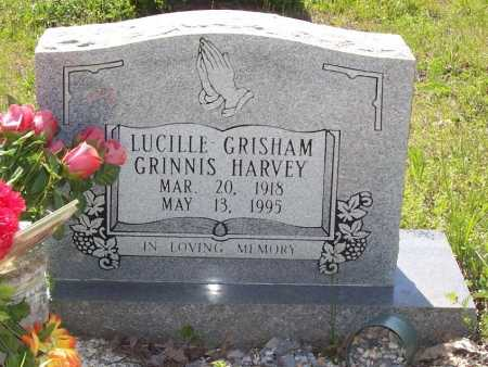 GRINNIS HARVEY, LUCILLE - Garland County, Arkansas | LUCILLE GRINNIS HARVEY - Arkansas Gravestone Photos