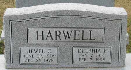 HARWELL, JEWEL C. - Garland County, Arkansas | JEWEL C. HARWELL - Arkansas Gravestone Photos