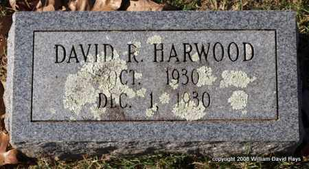 HARWOOD, DAVID R. - Garland County, Arkansas | DAVID R. HARWOOD - Arkansas Gravestone Photos