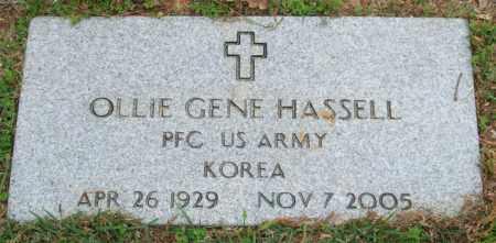 HASSELL (VETERAN KOR), OLLIE GENE - Garland County, Arkansas | OLLIE GENE HASSELL (VETERAN KOR) - Arkansas Gravestone Photos