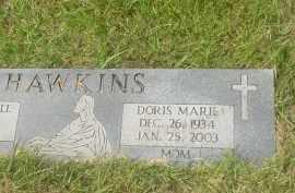 HAWKINS, DORIS MARIE - Garland County, Arkansas   DORIS MARIE HAWKINS - Arkansas Gravestone Photos