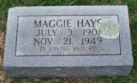 HAYS, MAGGIE - Garland County, Arkansas | MAGGIE HAYS - Arkansas Gravestone Photos