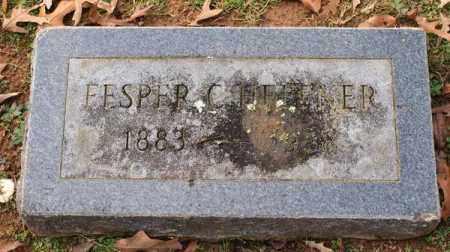 HEFFNER, FESPER CONARD - Garland County, Arkansas | FESPER CONARD HEFFNER - Arkansas Gravestone Photos