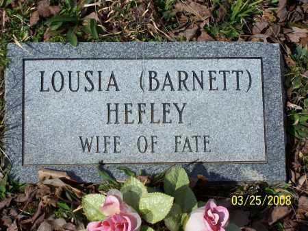 HEFLEY, LOUSIA - Garland County, Arkansas | LOUSIA HEFLEY - Arkansas Gravestone Photos