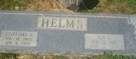 HELMS, IVA L. - Garland County, Arkansas | IVA L. HELMS - Arkansas Gravestone Photos