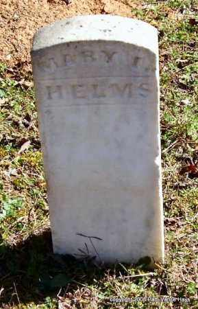 HELMS, MARY I. - Garland County, Arkansas | MARY I. HELMS - Arkansas Gravestone Photos