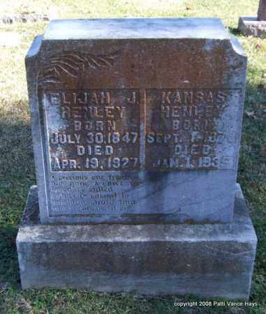 HENLEY, KANSAS - Garland County, Arkansas | KANSAS HENLEY - Arkansas Gravestone Photos
