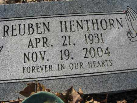HENTHORN, REUBEN - Garland County, Arkansas | REUBEN HENTHORN - Arkansas Gravestone Photos