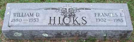 HICKS, WILLIAM D. - Garland County, Arkansas | WILLIAM D. HICKS - Arkansas Gravestone Photos