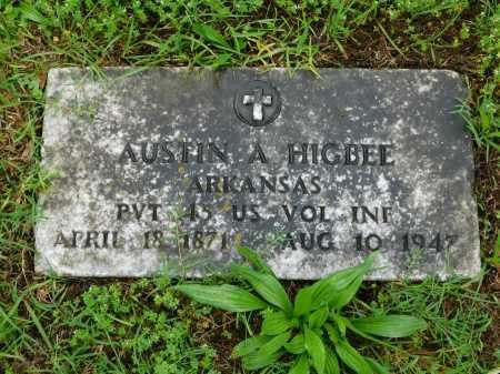 HIGBEE (VETERAN), AUSTIN A. - Garland County, Arkansas | AUSTIN A. HIGBEE (VETERAN) - Arkansas Gravestone Photos