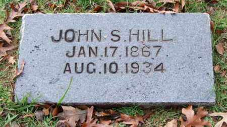HILL, JOHN S. - Garland County, Arkansas | JOHN S. HILL - Arkansas Gravestone Photos