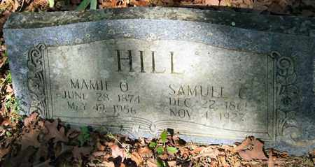 HILL, SAMUEL C. - Garland County, Arkansas | SAMUEL C. HILL - Arkansas Gravestone Photos