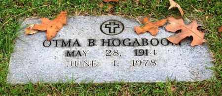 HOGABOOM, OTMA B. - Garland County, Arkansas | OTMA B. HOGABOOM - Arkansas Gravestone Photos