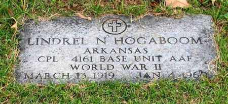 HOGABOOM (VETERAN WWII), LINDREL N - Garland County, Arkansas | LINDREL N HOGABOOM (VETERAN WWII) - Arkansas Gravestone Photos