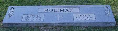 HOLIMAN, MARY J. - Garland County, Arkansas | MARY J. HOLIMAN - Arkansas Gravestone Photos