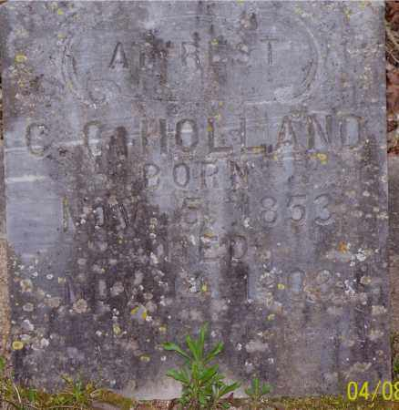 HOLLAND, C. C. - Garland County, Arkansas | C. C. HOLLAND - Arkansas Gravestone Photos
