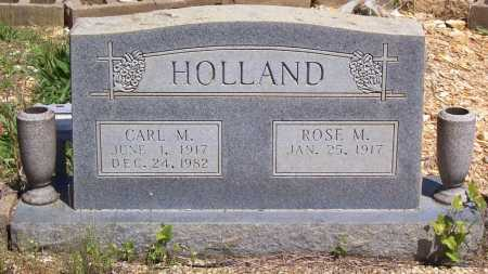 HOLLAND, ROSE M. - Garland County, Arkansas | ROSE M. HOLLAND - Arkansas Gravestone Photos