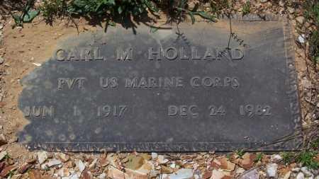 HOLLAND (VETERAN), CARL M. - Garland County, Arkansas | CARL M. HOLLAND (VETERAN) - Arkansas Gravestone Photos