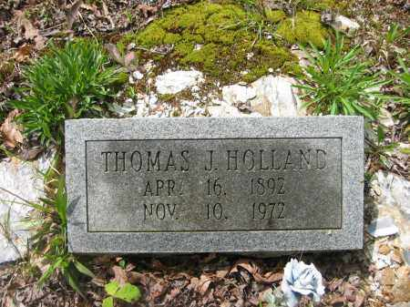 HOLLAND, THOMAS J. - Garland County, Arkansas | THOMAS J. HOLLAND - Arkansas Gravestone Photos