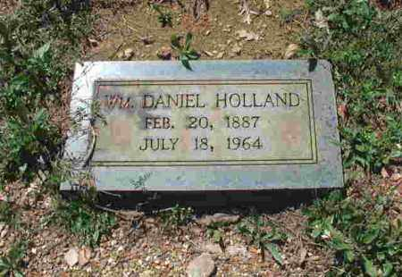 HOLLAND, WILLIAM DANIEL - Garland County, Arkansas | WILLIAM DANIEL HOLLAND - Arkansas Gravestone Photos