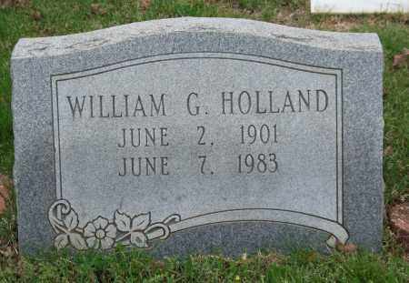 HOLLAND, WILLIAM G. - Garland County, Arkansas | WILLIAM G. HOLLAND - Arkansas Gravestone Photos