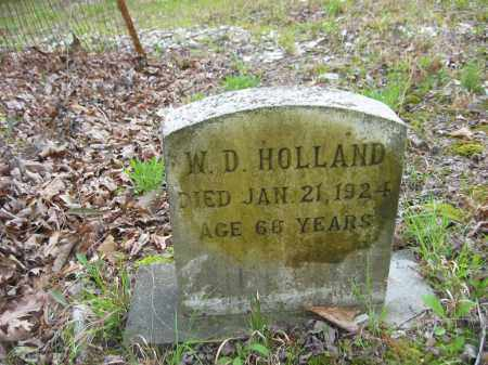 HOLLAND, W.D. - Garland County, Arkansas | W.D. HOLLAND - Arkansas Gravestone Photos
