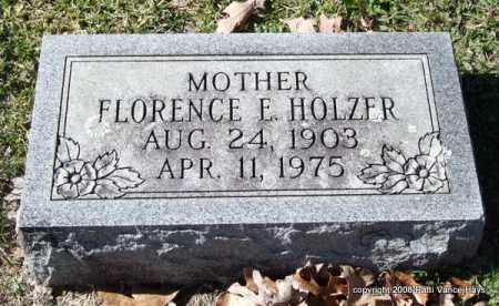 ROWE HOLZER, FLORENCE ELIZABETH - Garland County, Arkansas | FLORENCE ELIZABETH ROWE HOLZER - Arkansas Gravestone Photos