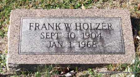 HOLZER, FRANK W. - Garland County, Arkansas | FRANK W. HOLZER - Arkansas Gravestone Photos