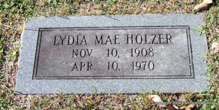 HOLZER, LYDIA MAE - Garland County, Arkansas | LYDIA MAE HOLZER - Arkansas Gravestone Photos