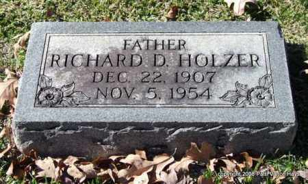 HOLZER, RICHARD D. - Garland County, Arkansas   RICHARD D. HOLZER - Arkansas Gravestone Photos