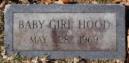 HOOD, BABY GIRL - Garland County, Arkansas | BABY GIRL HOOD - Arkansas Gravestone Photos