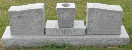 HORNE, ESTER - Garland County, Arkansas | ESTER HORNE - Arkansas Gravestone Photos