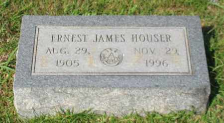 HOUSER, ERNEST JAMES - Garland County, Arkansas | ERNEST JAMES HOUSER - Arkansas Gravestone Photos