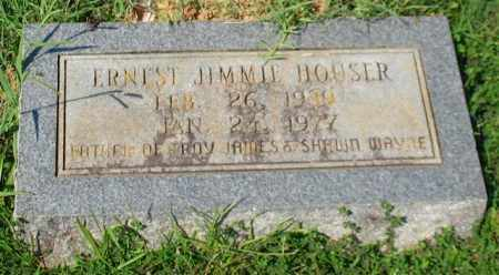 HOUSER, ERNEST JIMMIE - Garland County, Arkansas | ERNEST JIMMIE HOUSER - Arkansas Gravestone Photos