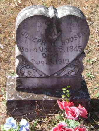 HOUSER, JOSEPH NIMROD - Garland County, Arkansas | JOSEPH NIMROD HOUSER - Arkansas Gravestone Photos