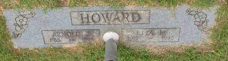 HOWARD, ARNOLD J. - Garland County, Arkansas | ARNOLD J. HOWARD - Arkansas Gravestone Photos