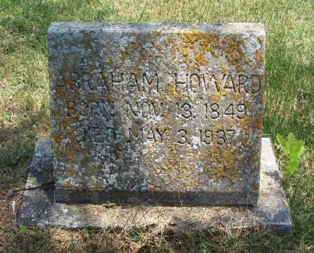 HOWARD, ABRAHAM - Garland County, Arkansas | ABRAHAM HOWARD - Arkansas Gravestone Photos